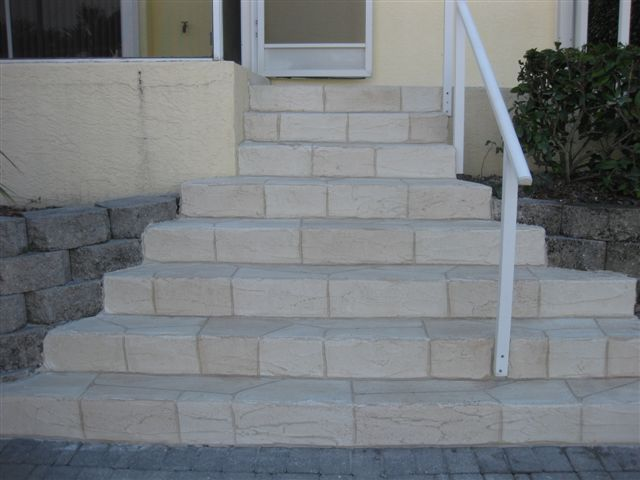 Small Grount Stairs